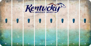 Kentucky APOSTROPHE Cut License Plate Strips (Set of 8) LPS-KY1-038