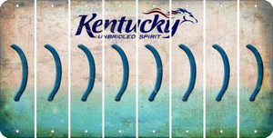 Kentucky RIGHT PARENTHESIS Cut License Plate Strips (Set of 8) LPS-KY1-048
