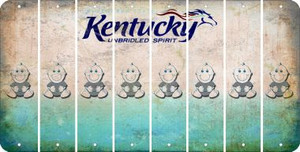 Kentucky BABY BOY Cut License Plate Strips (Set of 8) LPS-KY1-066