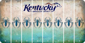 Kentucky SPIDER Cut License Plate Strips (Set of 8) LPS-KY1-076