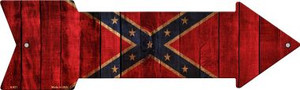 Confederate Flag Wholesale Novelty Arrow Sign A-631