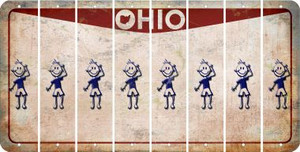Ohio TEEN BOY Cut License Plate Strips (Set of 8) LPS-OH1-068