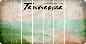 Tennessee BLANK Cut License Plate Strips (Set of 8) LPS-TN1-037