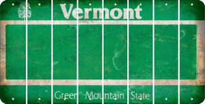 Vermont BLANK Cut License Plate Strips (Set of 8) LPS-VT1-037