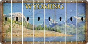 Wyoming APOSTROPHE Cut License Plate Strips (Set of 8) LPS-WY1-038