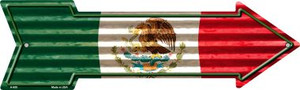 Mexico Flag Corrugated Wholesale Novelty Arrow Sign
