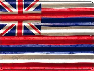 Hawaii Flag Wholesale Novelty Parking Sign P-2325
