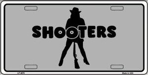 Shooters Wholesale Metal Novelty License Plate LP-4676