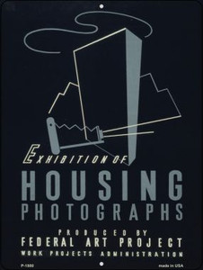 Housing Photographs Vintage Poster Wholesale Parking Sign P-1880