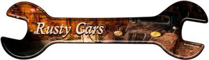 Rusty Cars Wholesale Novelty Metal Wrench Sign W-133