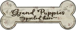 Grand Puppies Wholesale Novelty Bone Magnet B-002