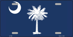 South Carolina State Flag Wholesale Metal Novelty License Plate LP-469