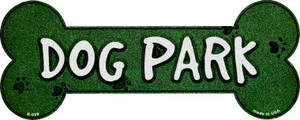 Dog Park Wholesale Novelty Bone Magnet B-020