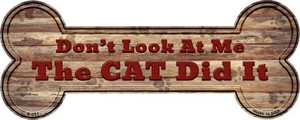 The Cat Did It Wholesale Novelty Bone Magnet B-031