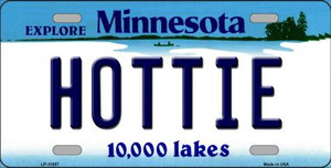 Hottie Minnesota State Novelty Wholesale License Plate LP-11057