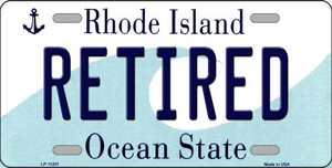 Retired Rhode Island State License Plate Novelty Wholesale License Plate LP-11201
