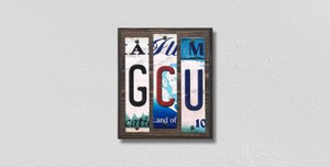 GCU Wholesale Novelty License Plate Strips Wood Sign WS-232