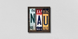 NAU Wholesale Novelty License Plate Strips Wood Sign WS-233