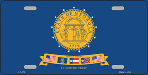 Georgia State Seal Wholesale Metal Novelty License Plate LP-473