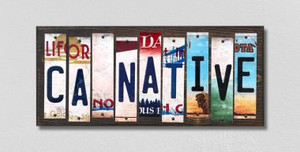 CA Native Wholesale Novelty License Plate Strips Wood Sign