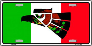 Made In Mexico Flag Wholesale Metal Novelty License Plate LP-4769