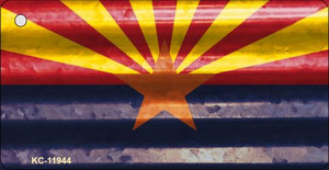 Arizona Corrugated Flag Wholesale Novelty Key Chain KC-11944