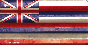 Hawaii Corrugated Flag Wholesale Novelty Key Chain KC-11952