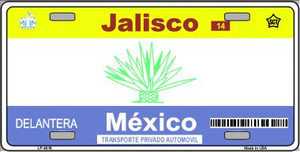 Jalisco Mexico Novelty Background Wholesale Metal License Plate LP-4816