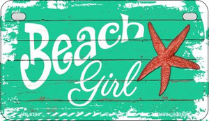 Beach Girl Wholesale Metal Novelty Motorcycle License Plate MP-8394