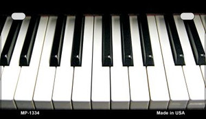 Piano Keyboard Novelty Wholesale Metal Motorcycle License Plate MP-1334