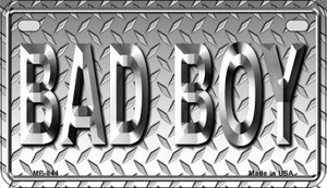 Bad Boy Wholesale Metal Novelty Motorcycle License Plate MP-844