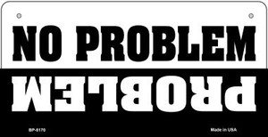 No Problem Wholesale Metal Novelty Bicycle License Plate BP-5170