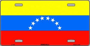 Venezuela Wholesale Metal Novelty License Plate LP-498