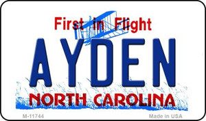 Ayden North Carolina Wholesale State Magnet M-11744