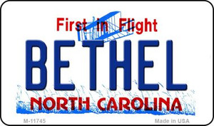 Bethel North Carolina Wholesale State Magnet M-11745