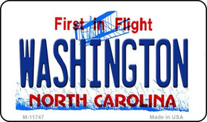 Washington North Carolina Wholesale State Magnet M-11747