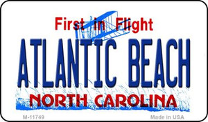 Atlantic Beach North Carolina Wholesale State Magnet M-11749