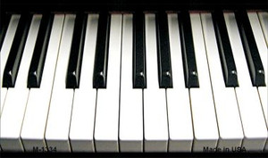 Piano Keyboard Novelty Wholesale Metal Magnet M-1334