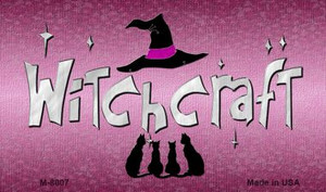 Witchcraft Novelty Wholesale Metal Magnet M-8007