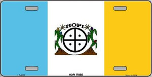 Hopi Tribe Flag Wholesale Metal Novelty License Plate LP-5033