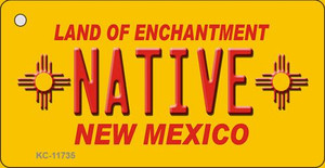 Native New Mexico Yellow Wholesale State Key Chain KC-11735