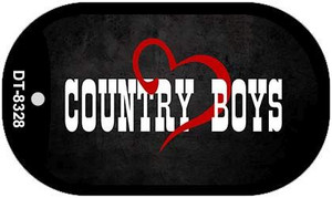 Country Boys Novelty Wholesale Metal Dog Tag Kit DT-8328