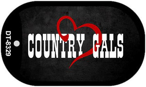 Country Gals Novelty Wholesale Dog Tag Kit DT-8329