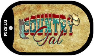 Country Gal Novelty Wholesale Metal Dog Tag Kit DT-8334