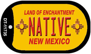 Native New Mexico Yellow Wholesale State Dog Tag Kit DT-11735