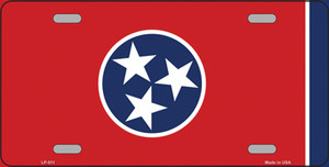 Tennessee State Flag Wholesale Metal Novelty License Plate LP-511