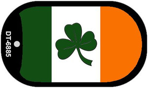 Shamrock Irish Flag Wholesale Metal Novelty Dog Tag Kit DT-6885