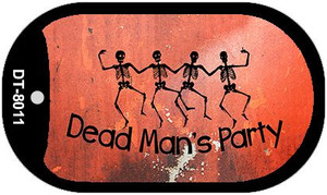 Dead Mans Party Novelty Wholesale Metal Dog Tag Kit DT-8011