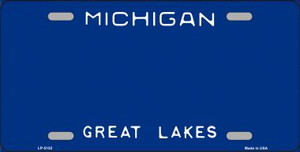 Michigan Novelty State Background Blank Wholesale Metal License Plate