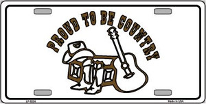 Proud to Be Country Novelty Wholesale Metal License Plate LP-5234